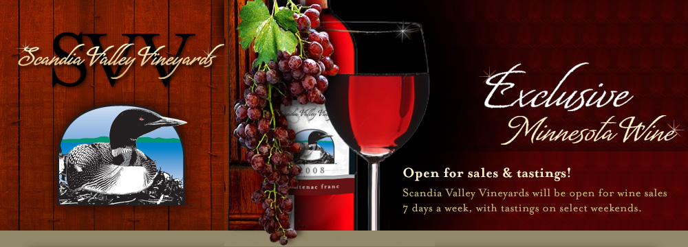 Scandia Valley Vineyards - Minnesota Winery